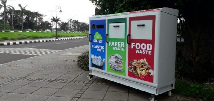 smart bin installed at navi mumbai