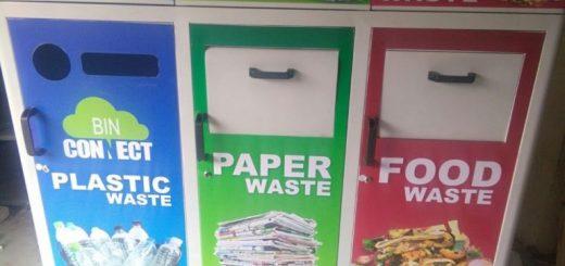 smart garbage bin