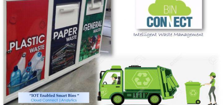 smart garbage bin sensor