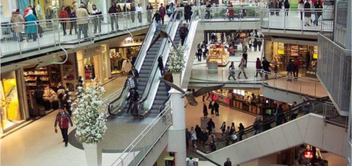 modern malls