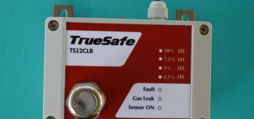 truesafe gas leak detector sensor